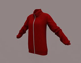 clothing 3D model Sweater