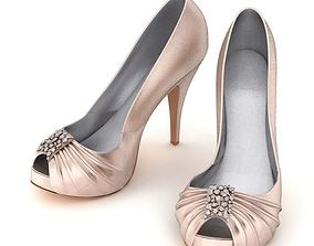 Women Shoes High Heels 3D