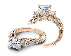 Engagement Ring 003 3D print model