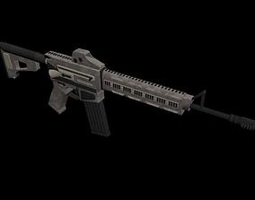 3D model Gun SMG MK18 Variant