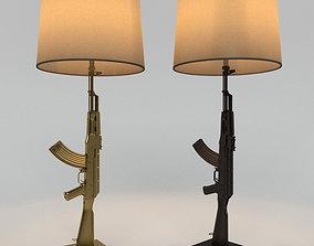 Floor lamp FLOS GUN philippe 3D
