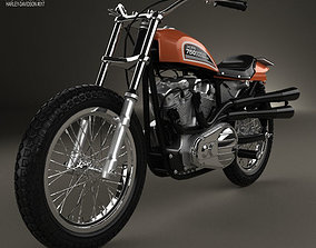 Harley-Davidson XR 750 1970 3D model