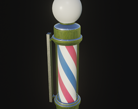 3D Pole Post barber