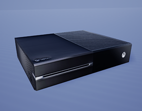 3D asset Xbox One Game Ready Low-Poly