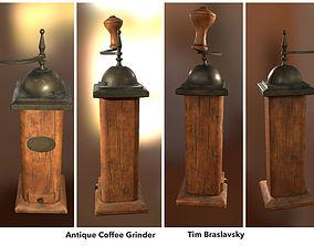 3D asset Antique Coffee Grinder