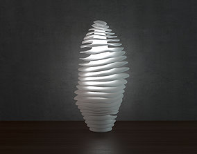 3D printable model Wave lamp 3 high quality version