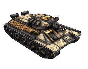 3D asset T-34 DA