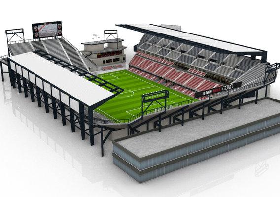 Audi Field DC Stadium 3D model
