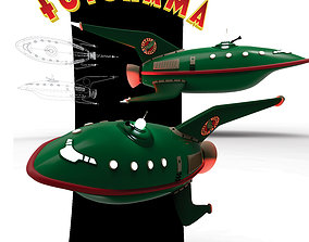 3D model Futurama