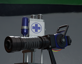 3D Team Fortress 2 - Medigun Remodel