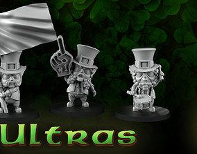 Ultras leprechauns 3D print model