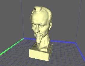 3D printable model bust Dzerzhinskyhinsky