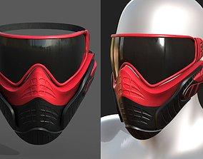 Mask protection scifi military futuristic 3D model