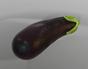 3D model game-ready Eggplant