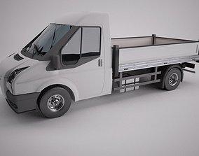 freight 3D Flat Bed Van