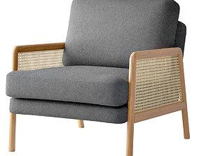 3D Cane Accent Armchair
