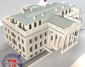3D model White House exterior