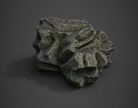 Rock formation 5 3D asset