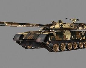 Black Eagle Prototype tank 3D model game-ready