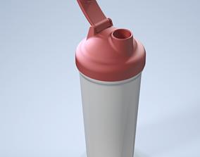 Standard Protein Shaker 3D Model
