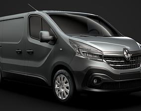 Renault Trafic Van 2020 3D