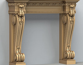 Fireplace 001 3D