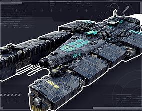 3D model Interstellar Corvette