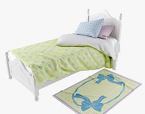 Kids Provence Bed 3D model