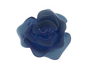 Blooming rose 3D printable model