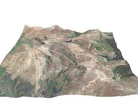 3D model Mt Evans Colorado