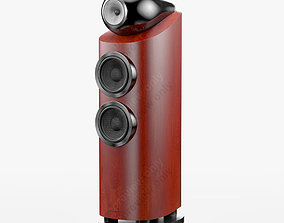 3D model Bowers and Wilkins 803 D3 Rosenut