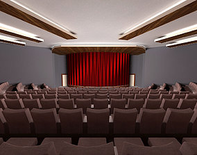 3D classic-chair AUDITORIUM - THEATRE