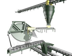 Iron Ore Pelletizing Unit 3D model