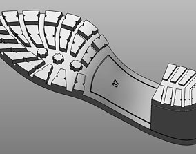Model soles of women shoes printable