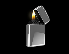 Lighter 3D asset
