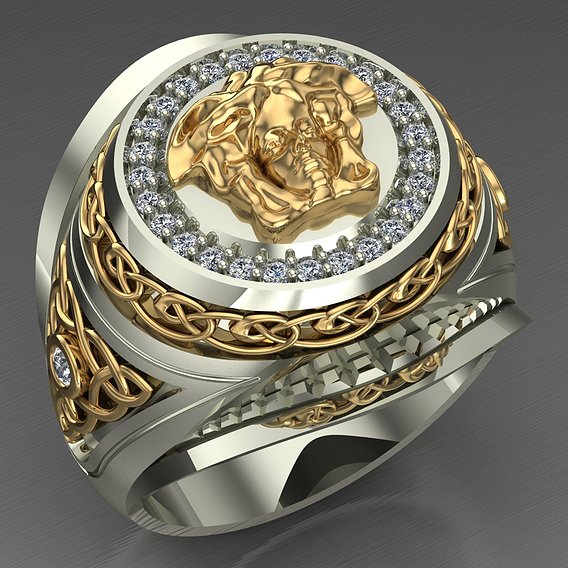 Versace  ring for men