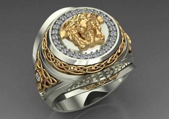 Versace  ring for men