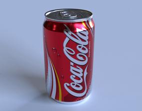 Coke Can - Low Poly 3D model
