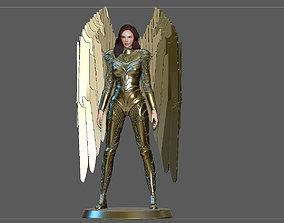 3D printable model WONDERWOMAN 1984 GOLDEN ARMOR STATUE 3