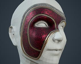 Masquerade Mask 3D model