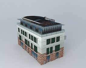 Commercial And Residential Building 3D model
