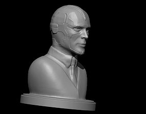 Vision of WandaVision futurism 3D printable model