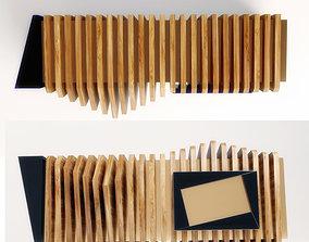 Reception Desk furniture 3D model
