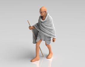 Mahatma Gandhi - Statue 3D model