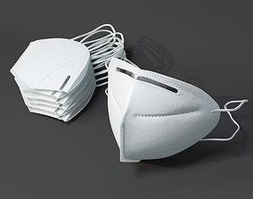 3D model Medical face mask