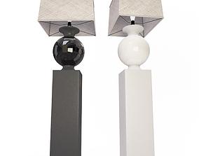 Floor Lamp Bottega 3D model