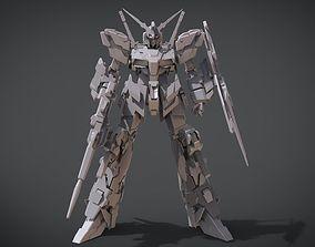 3D print model Gundam Unicorn