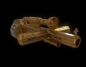 Holy shotgun 3D asset