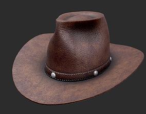 3D model Cowboy Hat farm