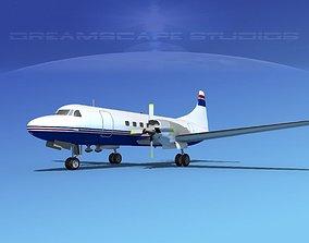 Convair CV-580 Corporate 5 3D